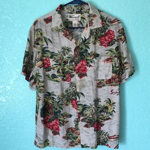 Banana republic Hawaiian shirt 100% rayon
